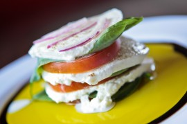 Caprese Stack from Spinato's Pizzeria. Michel Duarte/The Arizona