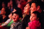 Gelacio Velasquez III, 2, of Maricopa, enjoys the show with his family at Zoppe Italian Family Circus at Chandler Center for the Arts, on Friday, Jan. 6, 2011. Michel Duarte/The Arizona Republic.